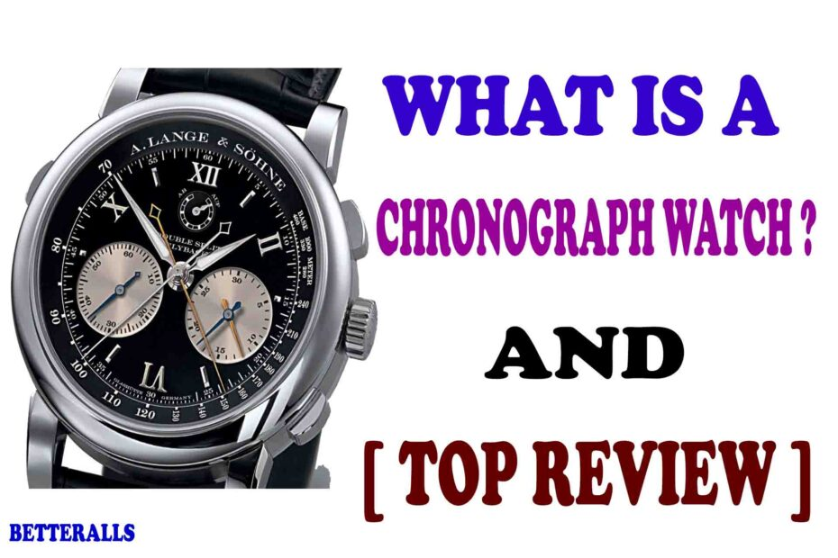 what is chronograph watch