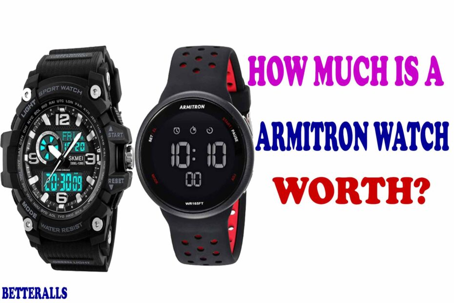 how much is a armitron watch worth